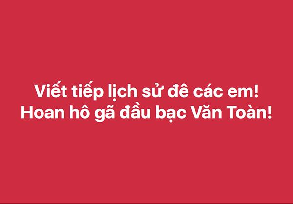 Chưa bao giờ Facebook rộn ràng đến mức này vì Olympic Việt Nam - 4