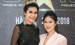 Ngọc Thanh Tâm tự tin đọ sắc vóc với Hoa hậu Trái đất 2015