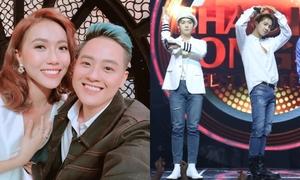 Thanh Duy - Diệu Nhi phấn khích 'quẩy' cùng Winner