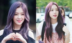 Visual 'bất phân thắng bại' của Irene và Ji Soo khi để cùng kiểu tóc