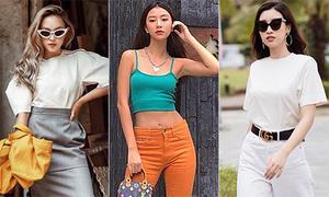 Street style cool ngầu, khoe dáng triệt để được sao Việt mê mệt tuần qua