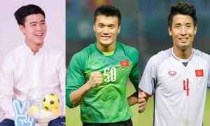 Những cầu thủ Olympic Việt Nam không thua kém Hàn Quốc về chiều cao