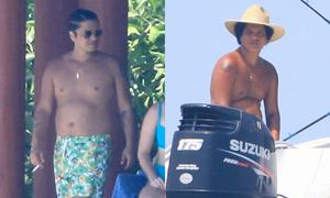 Bruno Mars gây choáng với thân hình phát phì khó tin