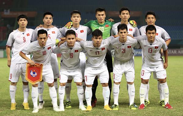 ... và đội U23 Việt Nam cùng cạnh tranh trong một hạng mục giải thưởng.