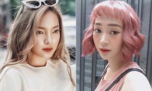Màu tóc chất chơi 'hết phần thiên hạ' của loạt hot girl Việt hè này
