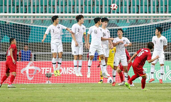 Việt Nam dù để thua Hàn Quốc nhưng vẫn chiến thắng trong lòng người hâm mộ.