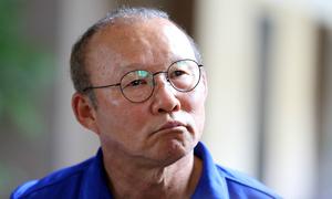Những hình ảnh đáng yêu vô đối của 'Ông bác Tròn vo' Park Hang-seo