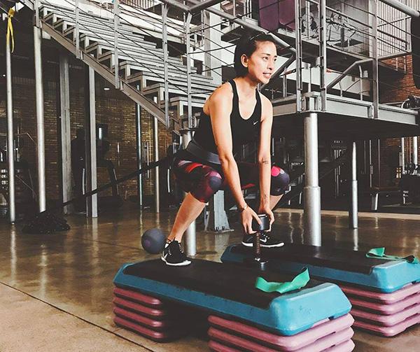 Ngô Thanh Vân là một con nghiện phòng gym thứ thiệt.