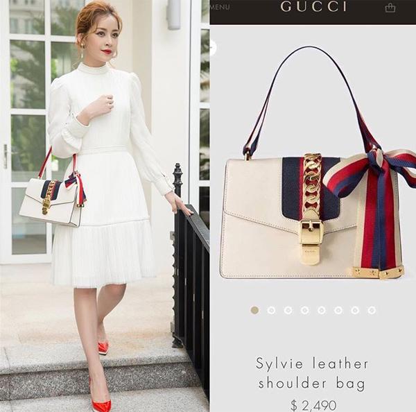 Cả hai cô nàng đều là tín đồ của Gucci, không tiếc tiền sắm hàng loạt túi xách, giày dép từ hãng, tất cả đều có mức giá khoảng 40-80 triệu đồng nhưng dùng không quá nhiều.
