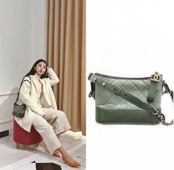 Chiếc túi xáchCHANEL GABRIELLE SMALL HOBO BAG : OLIVE ( LIMITED )