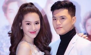 Linh Chi tình tứ bên bạn trai Lâm Vinh Hải