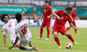 Xem lại cú sút luân lưu hỏng khiến Olympic Việt Nam thua trận