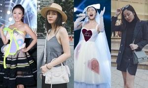 Style dự tiệc và đời thường 'một trời một vực' của Văn Mai Hương