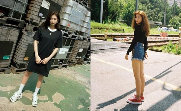 Cả Jennie và Seul Gi đều có ánh mắt sắc sảo và thần thái chuẩn girl crush.