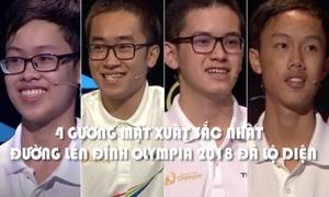 Khoảnh khắc khó quên của 4 nhà leo núi vào chung kết Olympia 18