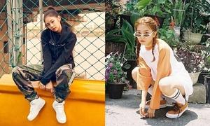 Jennie và Seul Gi khó phân thắng bại khi cùng diện concept thể thao