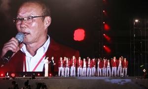 Olympic Việt Nam - ngày trở về nhiều cảm xúc cùng hàng vạn người hâm mộ