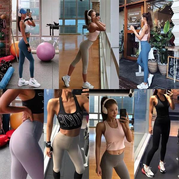Quá trình tập luyện được Kim Junie thường xuyên ghi lại để chia sẻ với người hâm mộ.