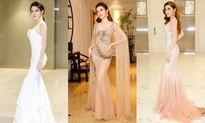 8 bộ đầm đẹp đến nao lòng của Á hậu Huyền My nửa đầu 2018