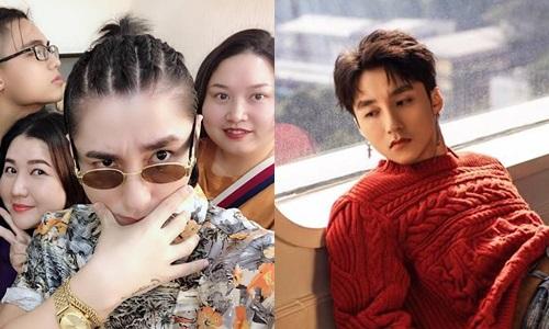 So sánh với kiểu tóc bổ luống gần đây nhất của Sơn Tùng thì mái tóc tết có phần chất chơi, ấn tượng hơn nhiều.