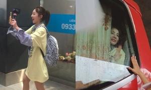 Dara cảm ơn fan Việt vì được chào đón nhiệt tình ở sân bay Tân Sơn Nhất
