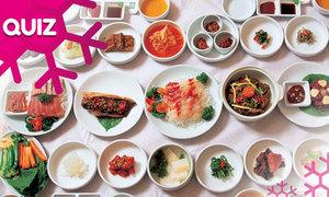 Bạn có biết hết các món ăn Hàn Quốc này?