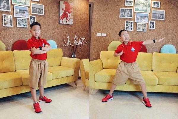 Nhóc tỳ nhà sao Việt cool ngầu, dễ thương trong ngày khai giảng - 6