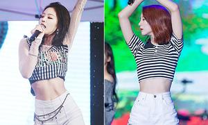 15 khoảnh khắc khoe eo đẹp nhất của idol Hàn với 'vũ khí gợi cảm' croptop