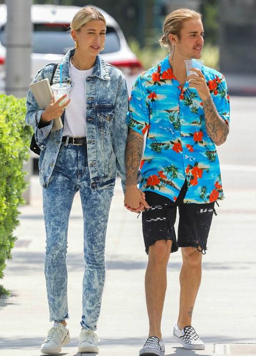Style ông chú thập niên 90 của Justin Bieber - 4