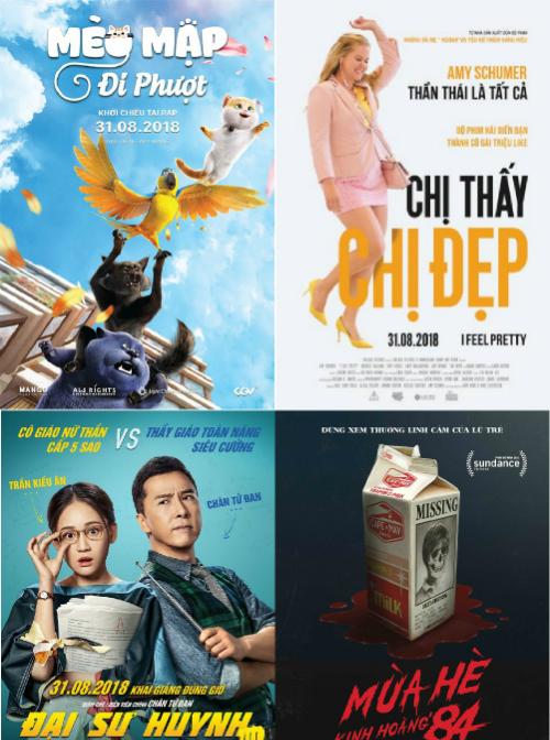 Các phim ngoại đang chiếu tại rạp
