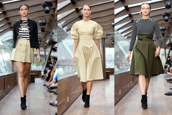Các items trong BST mang phong cách cá tính với các thiết kế chân váy midi, body suit hay các tweed jacket thời thượng được nhiều cô nàng đam mê thời trang lựa chọn.