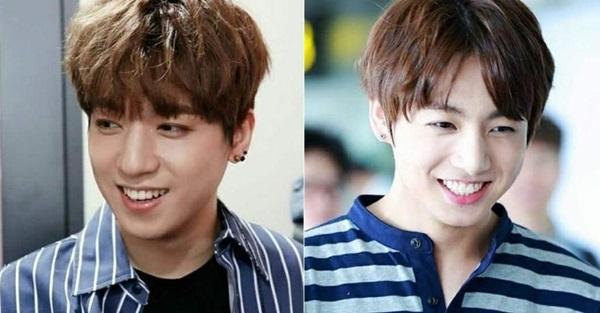Nhiều người từng lầm tưởngSung Jin của nhóm Day6 (trái) là anh trai của Jung Kook (BTS).