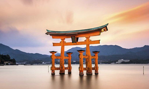 Đây là điểm đến nổi tiếng nào của đất nước Nhật Bản?