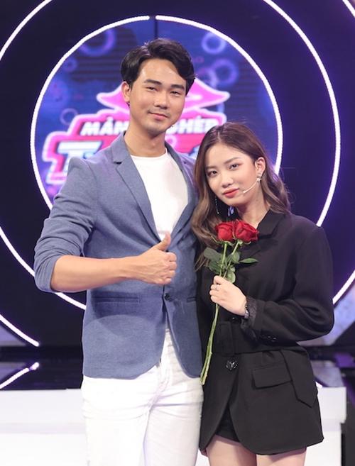 Nguyễn Luân - Ngọc Dung tham gia show hẹn hò.