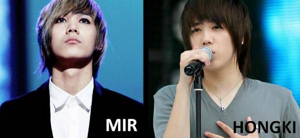 Đông đảo fan Kpop đều công nhận rằng, Mir (MBLAQ) chính là bản sao củaLee Hong Ki (F.T. Island).