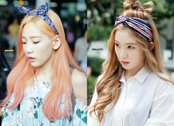 Hồi mới debut, Irene (phải) từng gây chú ý khi có những đường nét tương đồng với tiền bối cùng công ty Tae Yeon. Khi để cùng kiểu tóc, Irenekhiếnfan hoang mang khi nhận nhầm là... trưởng nhóm SNSD.