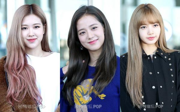 Sáng 8/9, các thành viên Black Pink, bao gồm Lisa, Rosé, Ji Soo có mặt tại sân bay quốc tế Incheon.