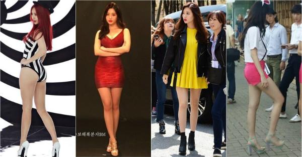 Yura là một trong những idol có body đẹp hàng đầu Kpop, điểm nổi bật nhất là đôi chân thon. Cô nàng từng tiết lộ đã mua bảo hiểm cho đôi chân với giá 448.000 USD (hơn 9 tỷ).