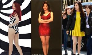 'Nữ idol có đôi chân tiền tỷ' suýt bị đá khỏi công ty vì cân nặng