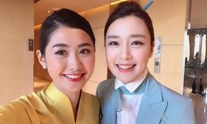 Thí sinh Hoa hậu Việt Nam xuất hiện trong clip của Liên minh Hàng không Quốc tế