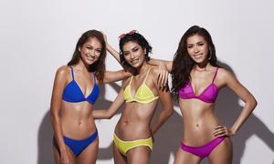 3 HLV Asia's Next Top Model khoe dáng 'vạn người mê' với bikini