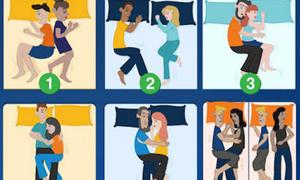 Trắc nghiệm: Tư thế nằm ngủ của các cặp đôi nói gì về tình yêu của bạn?