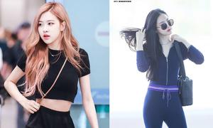 Cuộc chiến vòng eo ở Kpop: Rosé (Black Pink) đối đầu Na Eun (Apink)