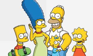 Nhìn màu sắc nhớ nhân vật trong 'The Simpsons'