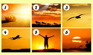 Trắc nghiệm: Bức tranh hoàng hôn phơi bày sự thật 'động trời' về bạn