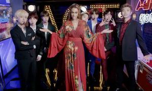 Tyra Banks nhảy ngon lành vũ đạo 'Idol' cùng BTS