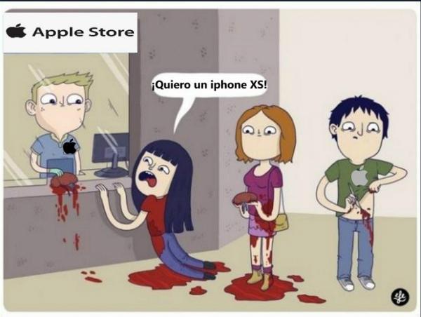 Nhiều cư dân mạng hài hước ví von việc bỏ tiền ra mua iPhone XS hoặc iPhone XS Max chẳng khác gì phải đánh đổi một quả thận.