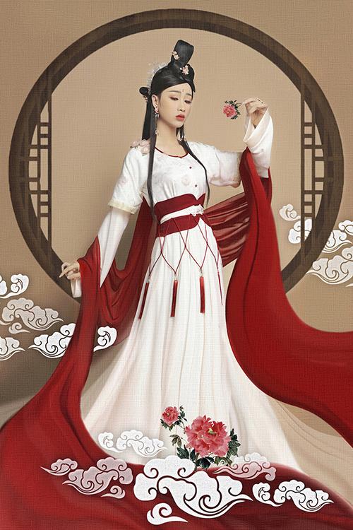 Giả gái đã đẹp, hóa chị Hằng BB Trần - Hải Triều còn lung linh hơn - 4