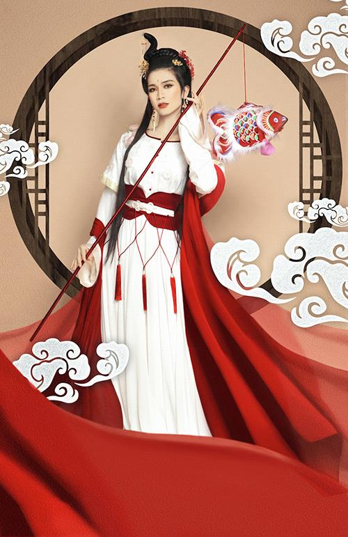 Giả gái đã đẹp, hóa chị Hằng BB Trần - Hải Triều còn lung linh hơn - 5