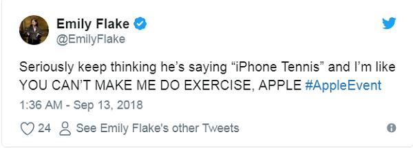 Cứ mỗi lần nghĩ đến việc ai đó gọi tên iPhone XS là iPhone Tennis, tôi lại thầm tự nhủ: NÀY APPLE, CÁC NGƯỜI KHÔNG THỂ ÉP TÔI PHẢI VẬN ĐỘNG CƠ THỂ ĐƯỢC.